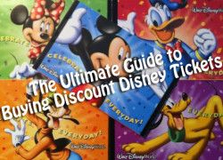 Great guide on how to buy discount tickets to Disney World and save quite a bit of money.