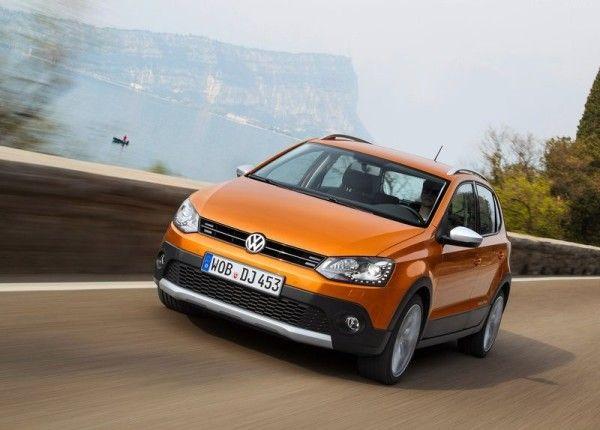 2014 Volkswagen CrossPolo Front Exterior View 600x430 2014 Volkswagen CrossPolo Review, Specs and Quality