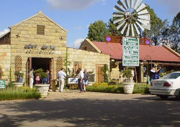 """Clarens – A Real """"Artist"""" Town...and yes, I visited Clarens.   Clarens is surrounded by majestic sandstone grandeur."""