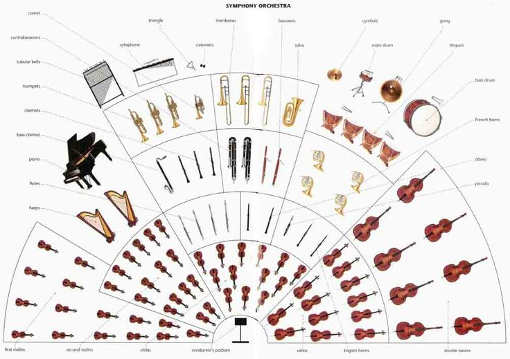 Symphony orchestya layout with piano : CC Cycle 2 : Pinterest : The ...