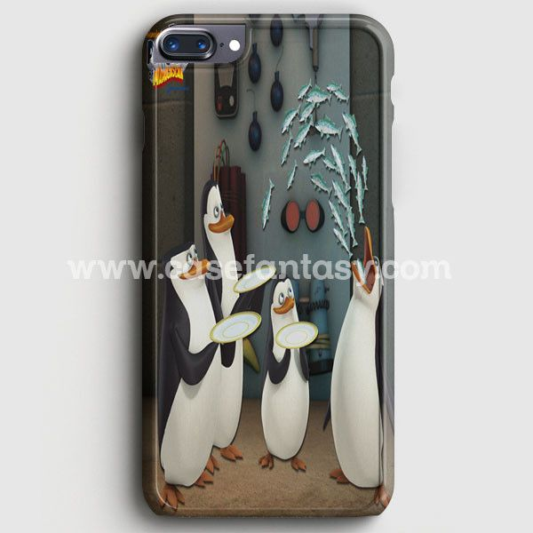 Funny Penguins Of Madagascar 2 Escape To Africa iPhone 7 Plus Case | casefantasy