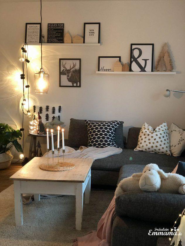 DIY: Schwebendes DIY Regal aus Bohlen und Bilder, die das zu Hause gemütlich machen