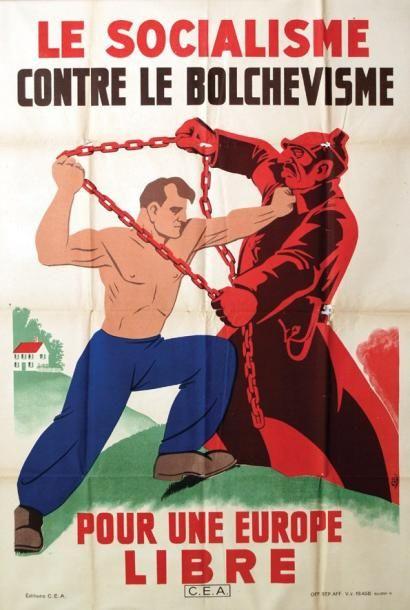 Le Socialisme contre le Bolchévisme * pour une Europe Libre....reépinglé par Maurie Daboux .•*`*•. ❥