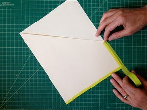 Tutorial: How to make a 3-ring binder pocket | ClothPaperScissors.com #DIY #office #mixedmedia