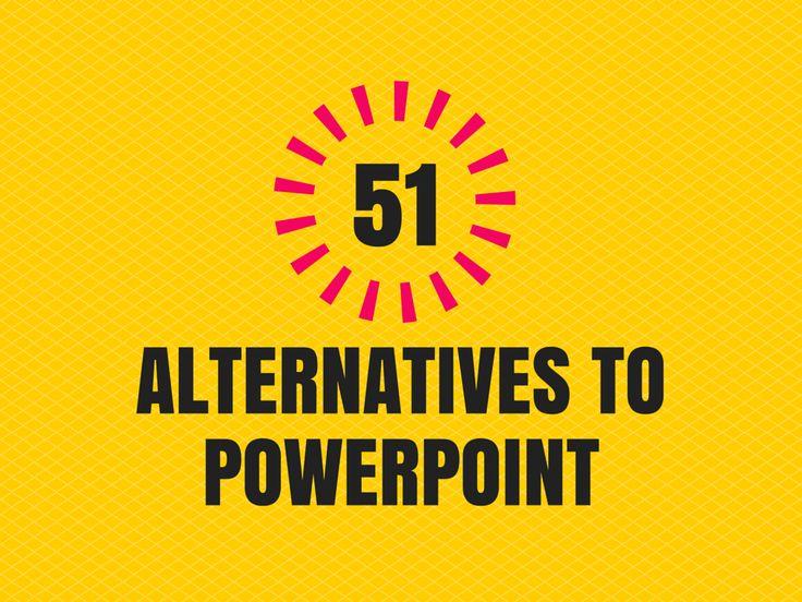 Online Presentation Software: 51 Alternatives to PowerPoint