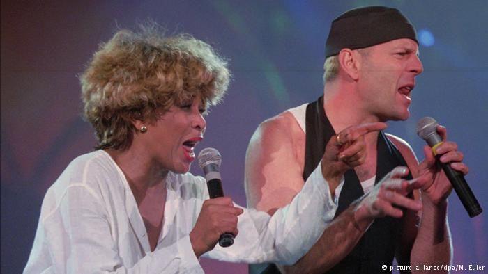 Tina Turner & Bruce Willis