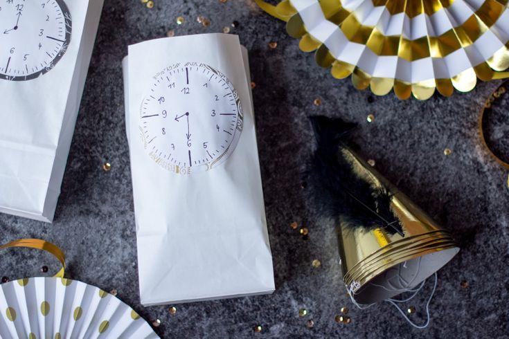 Countdown-Tüten für Silvester - TRYTRYTRY | Silvester ...