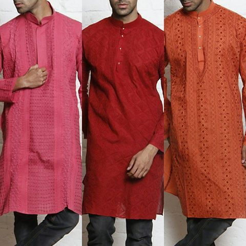 How about gifting your brother a bright, festive & comfy hand embroidered chikankari kurta to wear for Rakhi celebration day? We're sure he'll love it !! Shop chikankari mens Kurtas, only on: http://www.indianartizans.com/apparel/men-s-kurtas.html #rakhigifts #rakhifestival #rakhi2015 #giftsforbrothers #celebraterakhi #mensethnicwear #redkurta #orangekurta #pinkkurta #menskurtas #menswear #handembroidery #handcrafted #indiandesigner…