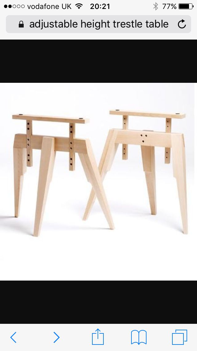 Comp Table Legs By Mathew Hilton