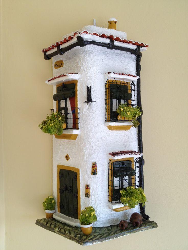 1186 mejores im genes sobre tejas decoradas en pinterest - Tejas pequenas decoradas ...