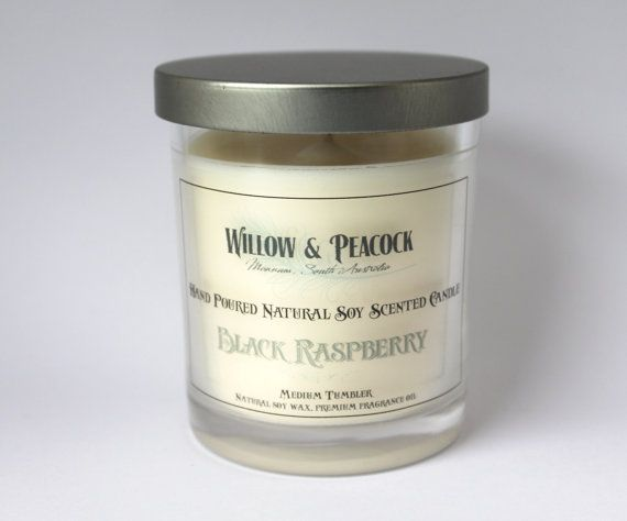 Choice of fragrance Hand Poured Natural Soy Wax Scented Tumbler Candle -  with lid