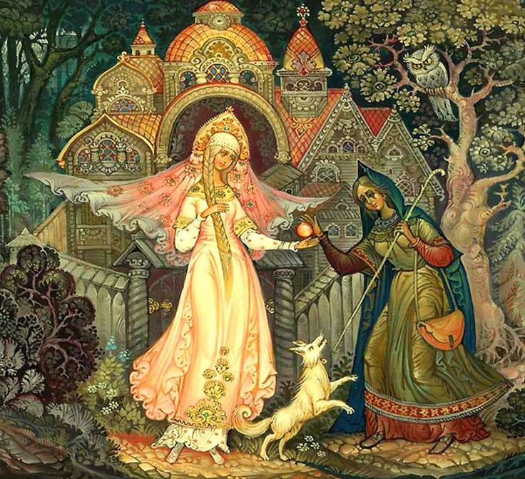 Открытка картинки, старорусские картинки из сказок