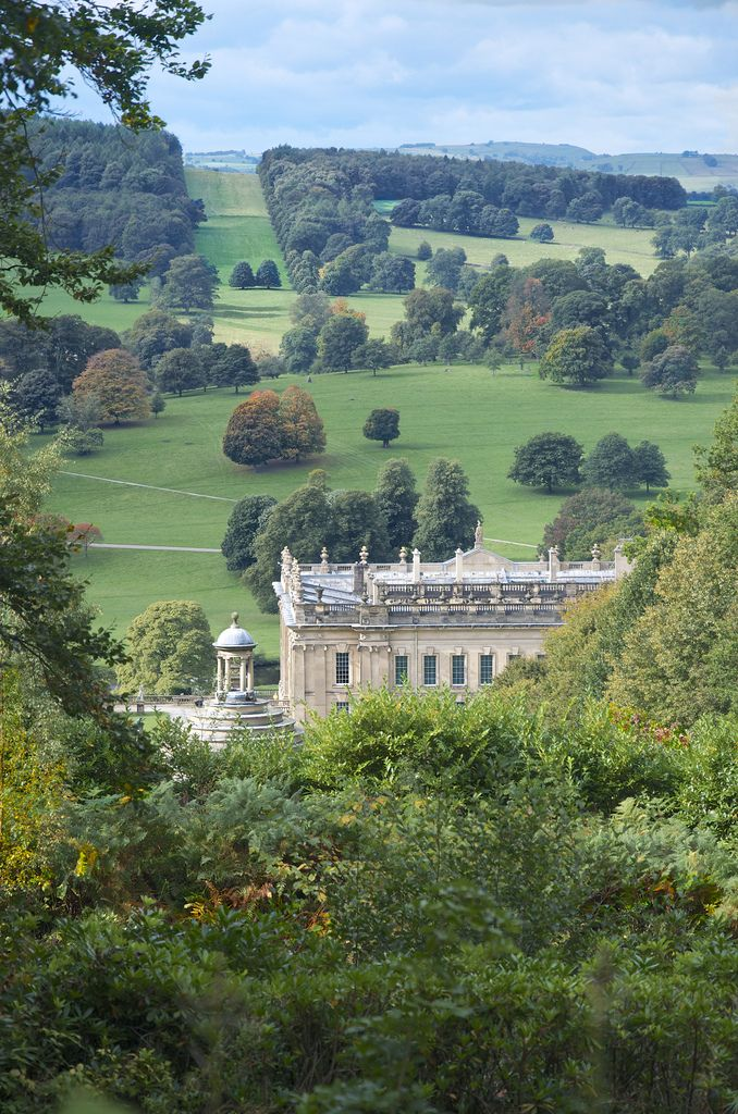 "wanderthewood: "" Chatsworth House, Derbyshire, England by Timallen """