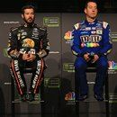 """The quartet of drivers in this year's Monster Energy NASCAR Cup Series Championship 4 met the media ahead of the weekend's Ford EcoBoost 400 at Homestead-Miami Speedway. #Nascar #StockCarRacing #Racing #News #MotorSport >> More news at >>> <a href=""""http://stockcarracing.co"""">StockCarRacing.co</a> <<<"""