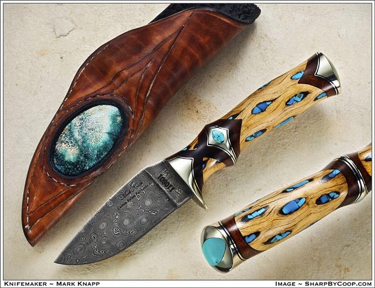 Custom Knife Laminated Wood Handle By Ramos Knives – Fondos de Pantalla