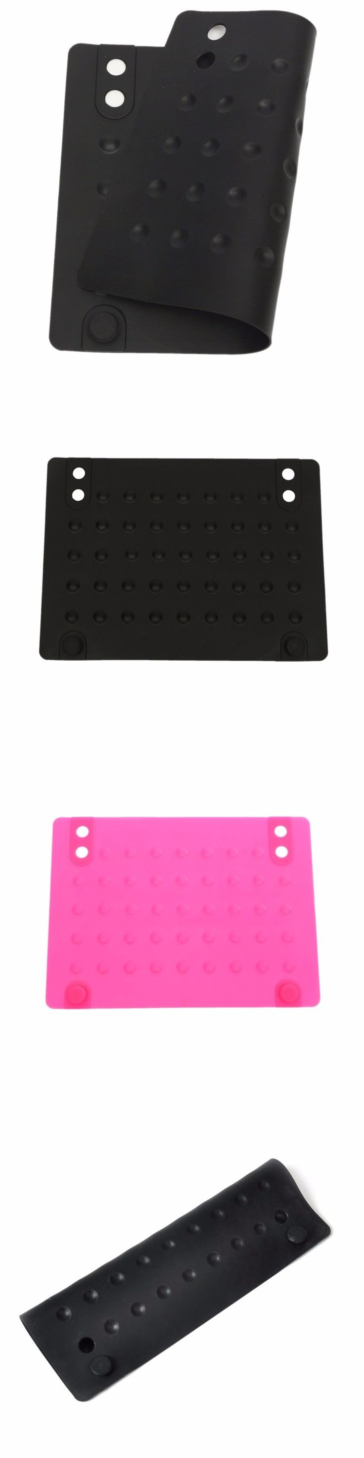 JEYL Hot Silicone Heat Resistant Mat Anti-heat Mats for Hair Straightener Curling Iron (black) 215*165cm