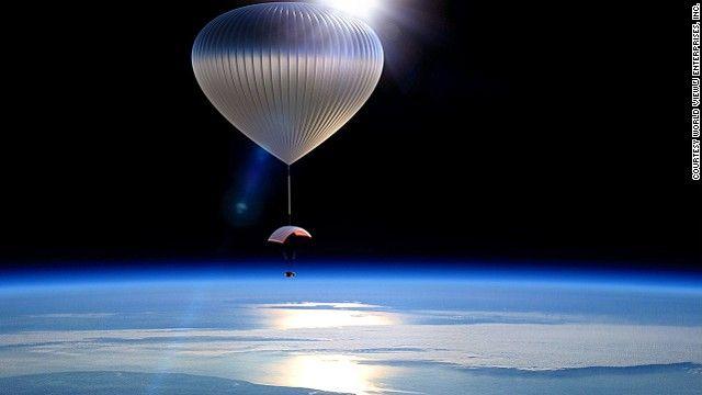 CNN.co.jp : 写真特集:宇宙間近を体験、気球旅行 - (1/4)