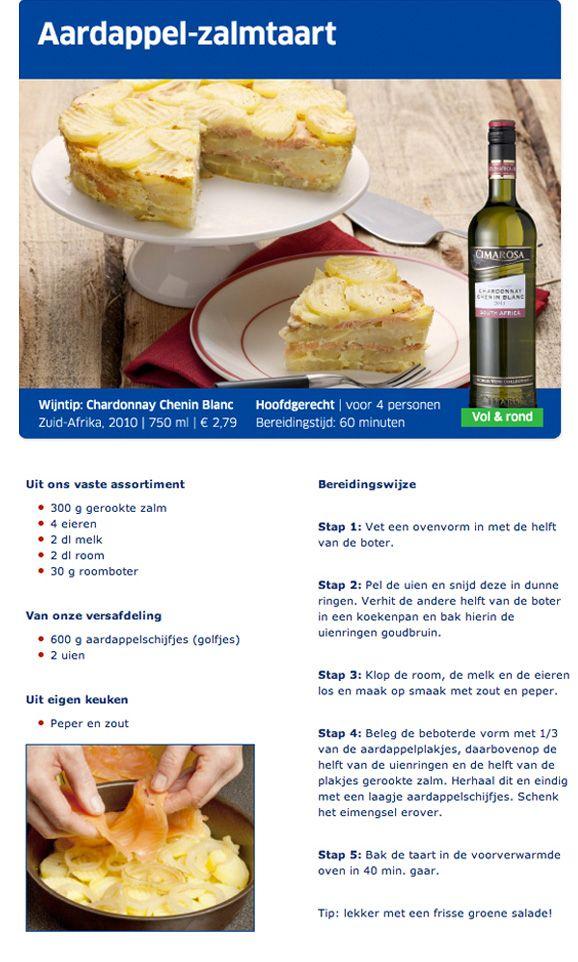 Aardappel-zalmtaart - Lidl Nederland