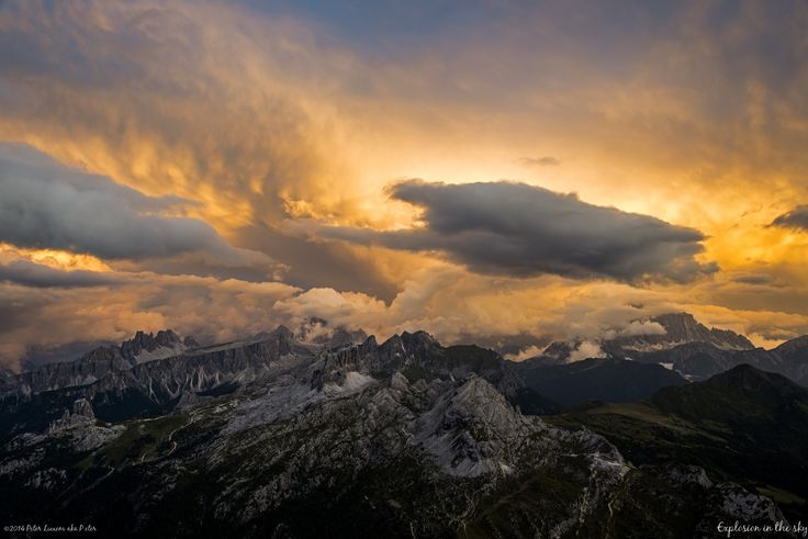 Photograph Explosion in the sky by Peter Luxem on 500px