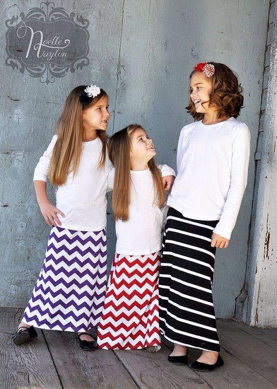 Turquoise Maxi Skirt Toddler Girl Little by LittleDaintyDarlings, $18.95