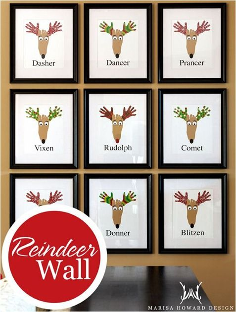 What a cute idea!! I think I am going to start his project this year and add 2 new ones each year...it will be great to see how the boys hands & feet grow :)