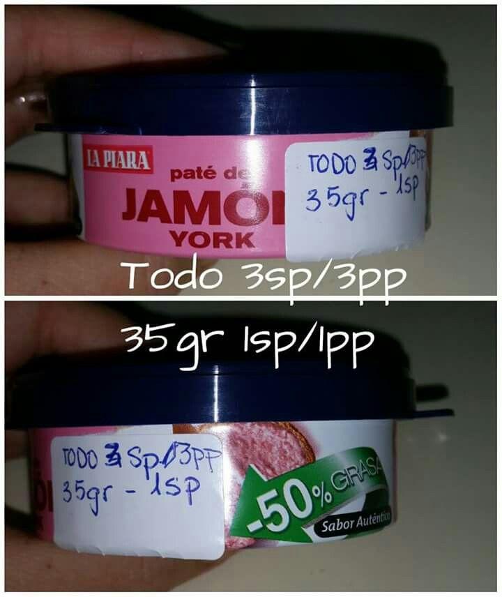 Paté de jamón york La Piara