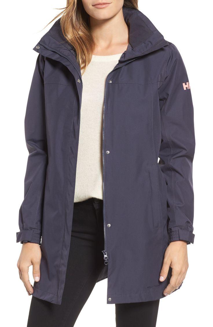 Buy HELLY HANSEN 'Aden' Helly Tech? Raincoat online. [$150]?@ 1newuspro
