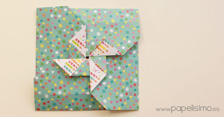 Tarjeta-molinos-de-papel-Paper-Paper-pinwheels-Scrapbooking