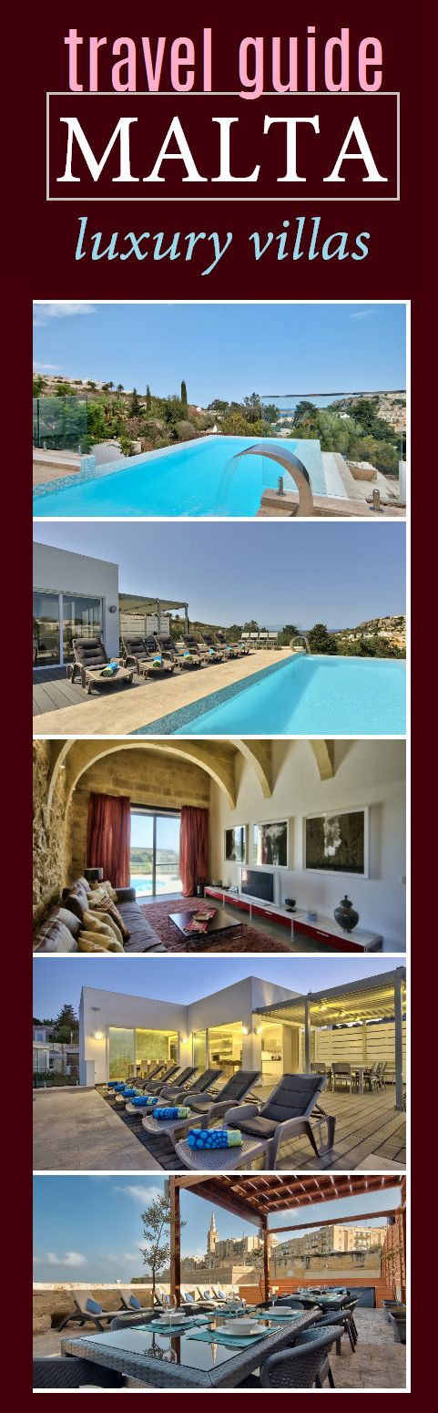 Malta Luxury Villa Rental - Ferienvilla Malta - www.casalio.com -The best villas in Malta to rent for holiday w/ families, friends.#casalio #casaliovillas #luxury #luxurytravel #reisen #luxusvillen #luxus #casalujo #urlaubmalta #maltavilla