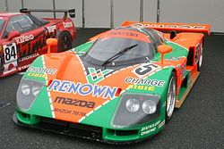 Wn 1974. Mazda is the only team from outside Western Europe or the United States to have won Le Mans outright and the only non-piston engine ever to win Le Mans, which the company accomplished in 1991 with their four-rotor 787B (2,622 cc or 160 cu in—actual displacement, rated by FIA formula at 4,708 cc or 287 cu in).wankel engine - Wikipedia, the free encyclopedia