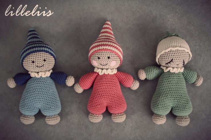 PATTERN Cuddlybaby amigurumi baby doll crochet toy door ...