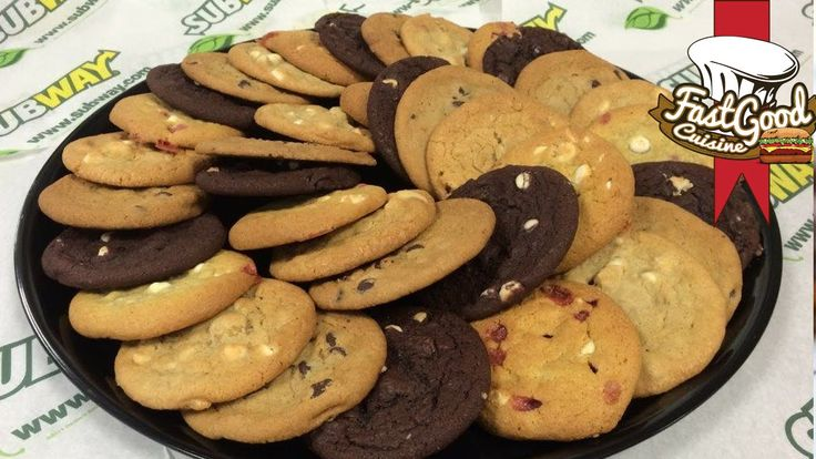Comment faire les cookies de Subway | FastGoodCuisine - YouTube
