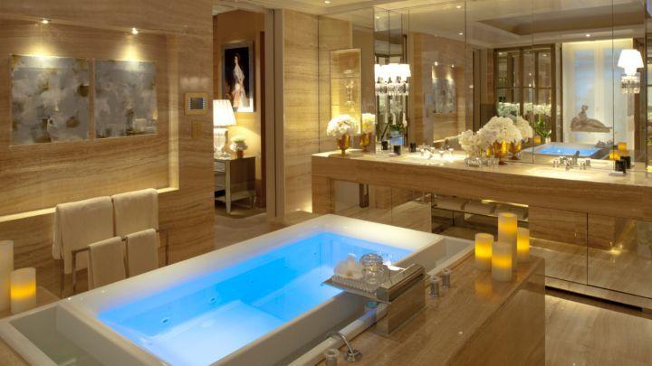 The Penthouse Paris Suite at the Four Seasons Hotel George V Paris