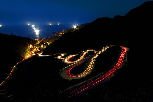 How to Shoot Light Trails tutorial - shutter speeds 10-20 seconds, mid-range apertures (F/8), use a tripod!