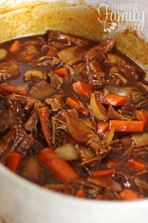 Thick and Beefy Danish Goulash-Recipe's like beef stew to me.