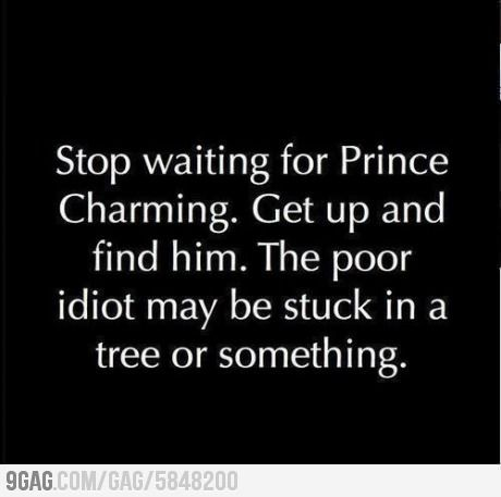 Well, then I am not sure I want him, unless he has a good reason for being in the tree. A really good one...