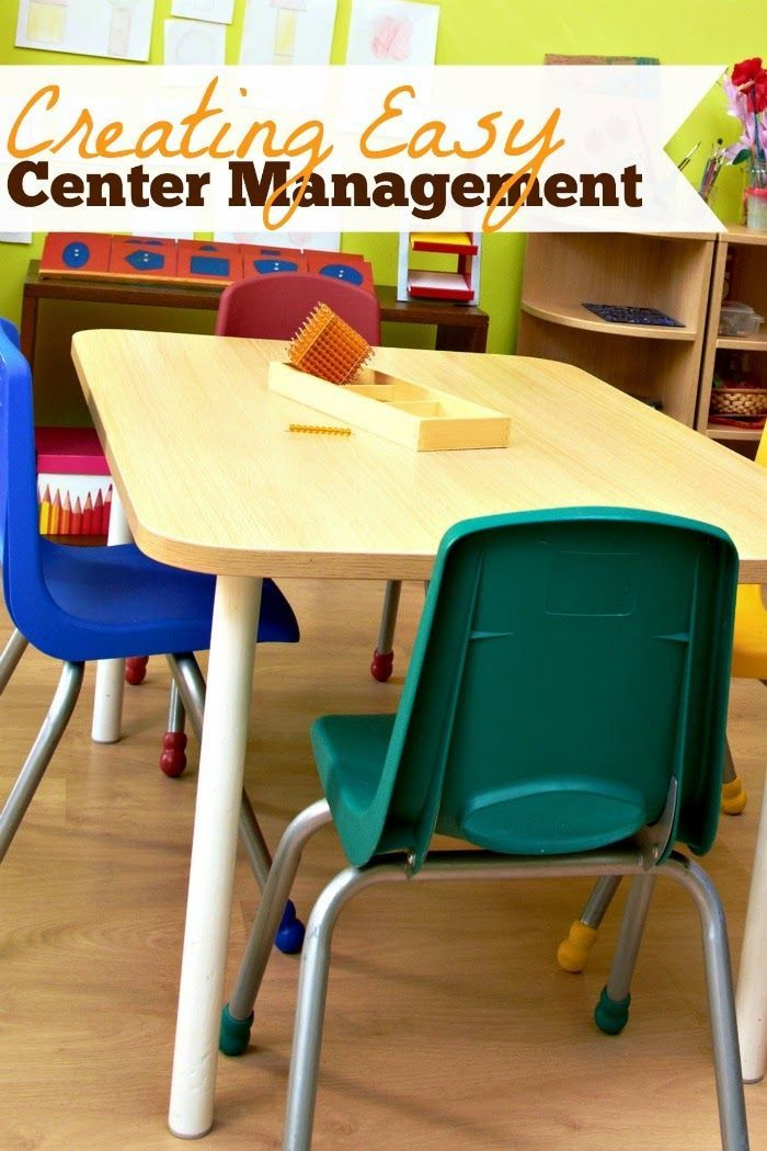 Management is key to making centers work.