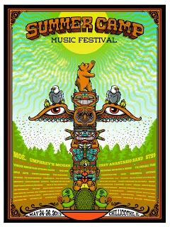 Mudhoney & Summer Camp Music Festival Posters by Matt Leunig On Sale