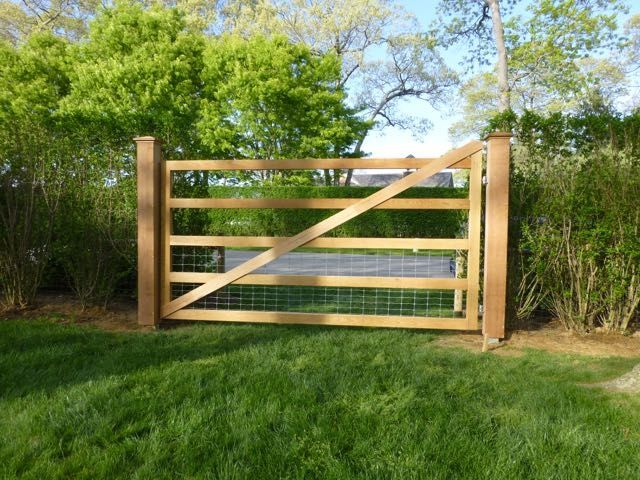 Deer Fencing U0026 Custom White Cedar Gate, Discover Home Design Ideas,  Furniture, Browse Photos And Plan Projects At HG Design Ideas   Connecting  Homeowners ...
