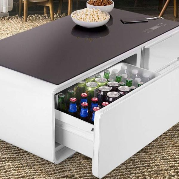 Smart Coffee Table Can Charge Your Phone And Doubles As A Chic