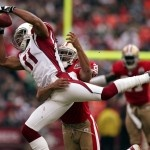 """Rather than absorbing a massive $15 million salary cap hit to move their standout wide receiver, the Arizona Cardinals have made it clear there is """"zero chance"""" they will trade Larry Fitzgerald this offseason.    Keeping the 29-year-old Fitzgerald, who Arizona took out of the University of Pittsburgh with the third pick in the 2004 NFL Draft, is a fiscally, and competitively, wise decision by the Cardinals."""