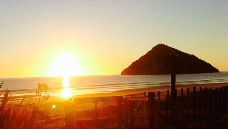 First place to see the sun.EAST COAST.Anaura bay.AOTEAROA.