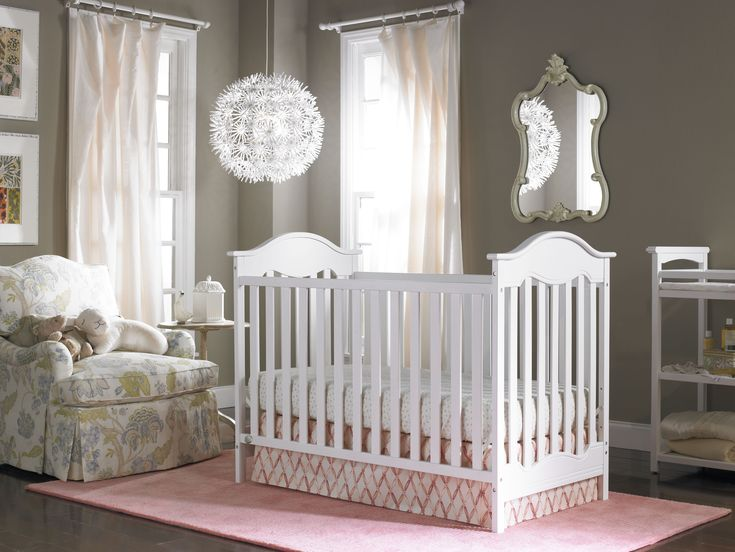 Baby Nursery Awesome White Rustic Nursery Furniture Also Pink Area Rug And Random Globe Pendant