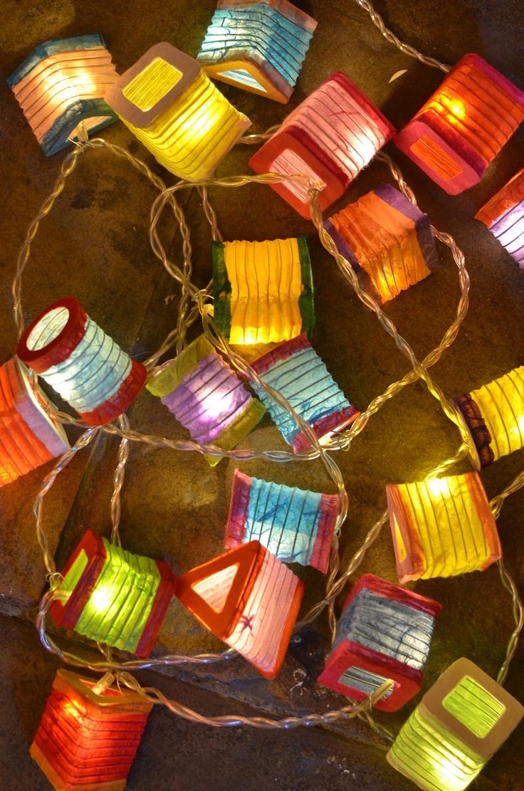Multicoloured Lanterns - Radiance