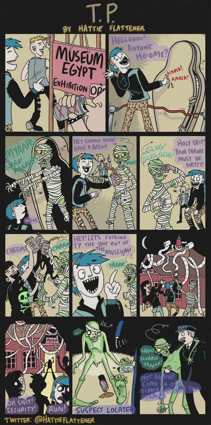 Hattie Flattener Presents... || Comics - T.P.