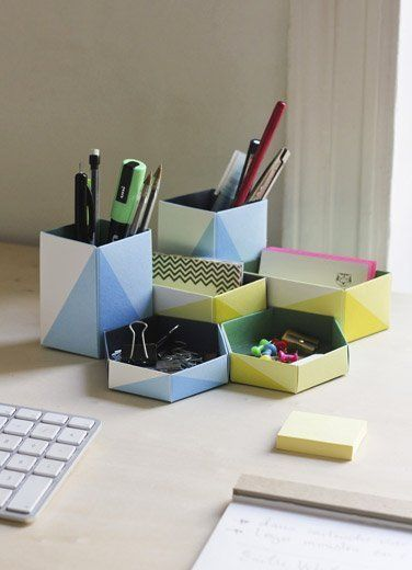 Geometric Organization & Storage For the Home Office