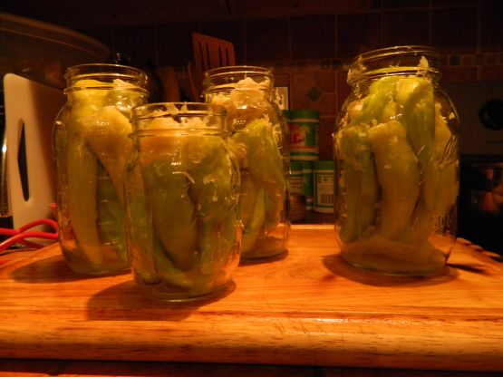 Cabbage Stuffed Hot Banana Peppers - Canning Recipe - Food.com