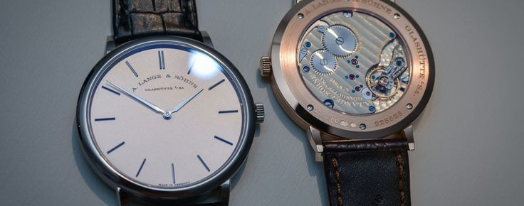 Hands-on with the 2016 edition of the A. Lange & Sohne Saxonia Thin, with new face (live pics, specs & price) - Monochrome Watches