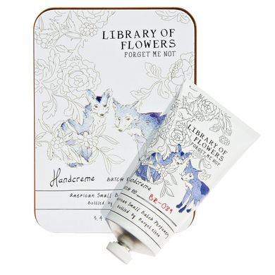 Library of Flowers Forget Me Not Hand Creme at Pigment
