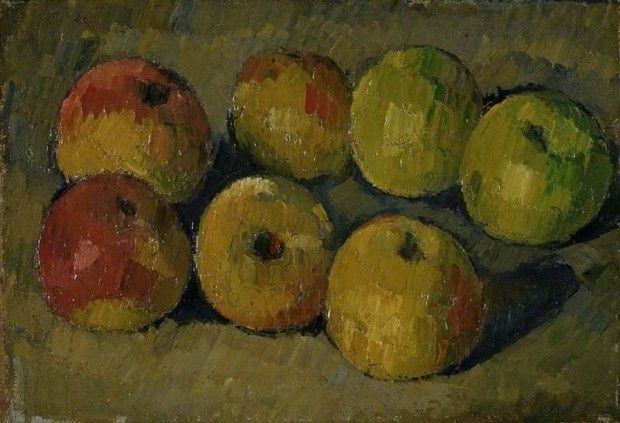 Paul Cezanne, Still Life with Apples, 1875-77, The Fitzwilliam Museum